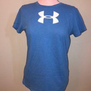 Under Armour Women's Small Royal Blue T-Shirt
